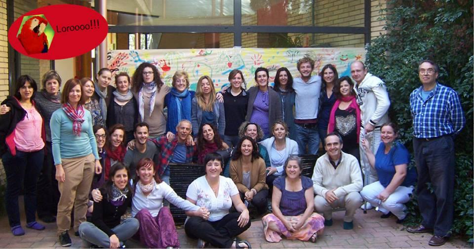 Francesca Simeón, Juan Carlos Monje y alumnos del PEI 2013