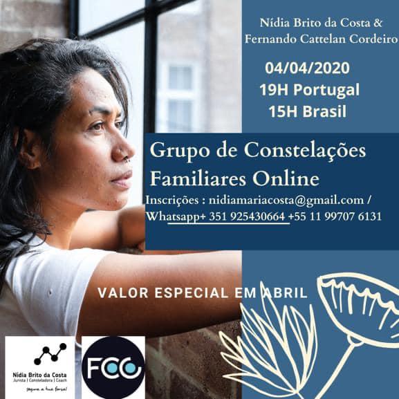 NOVAS CONSTELAÇÕES FAMILIARES ONLINE- Mirada Sistémica