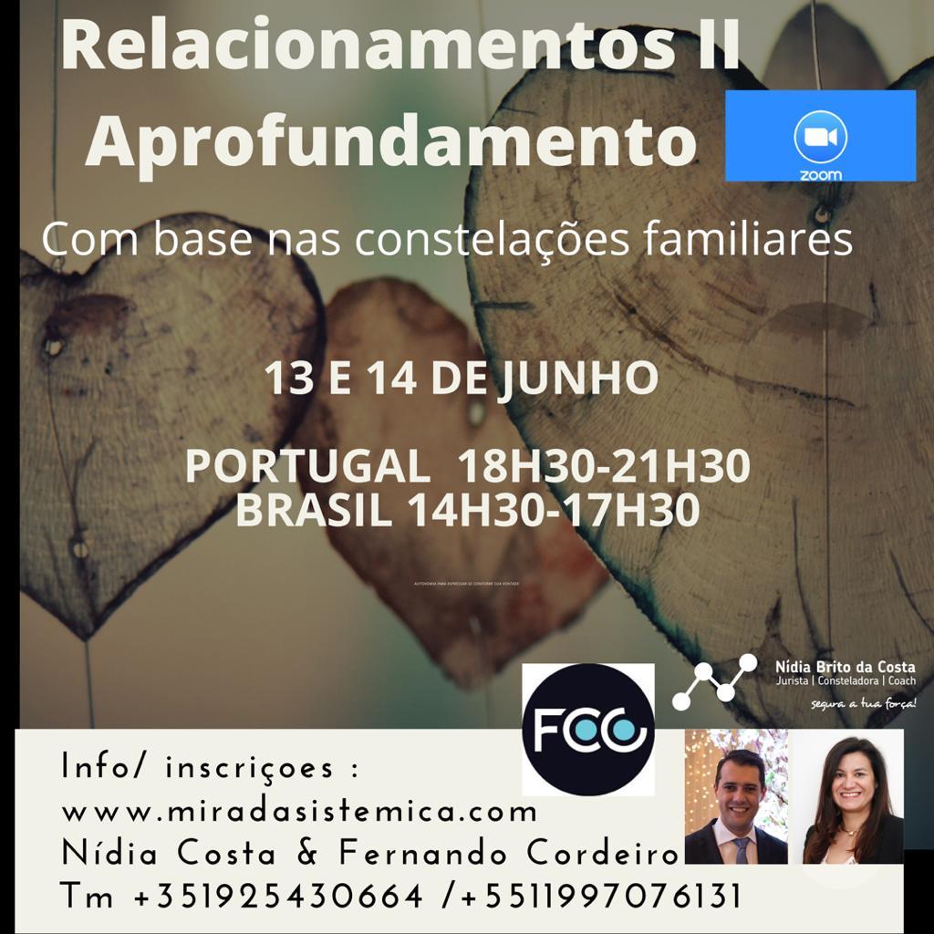 Módulo Relacionamentos II Aprofundamento 13 y 14 junho