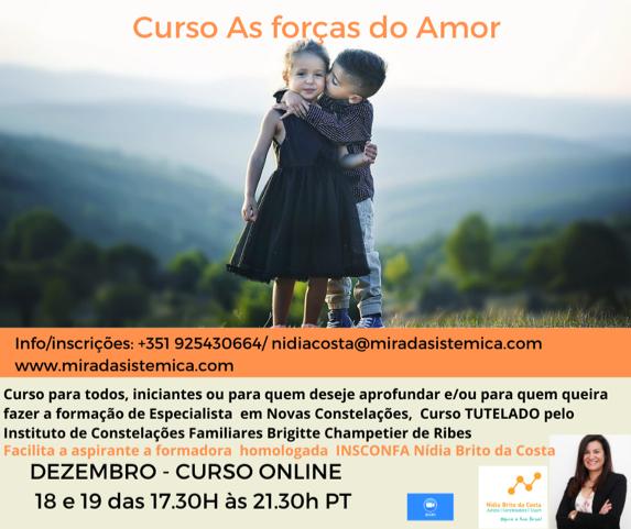 As forças do Amor Online Nidia