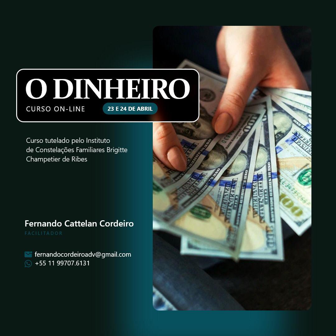 Curso o dinheiro Brasil