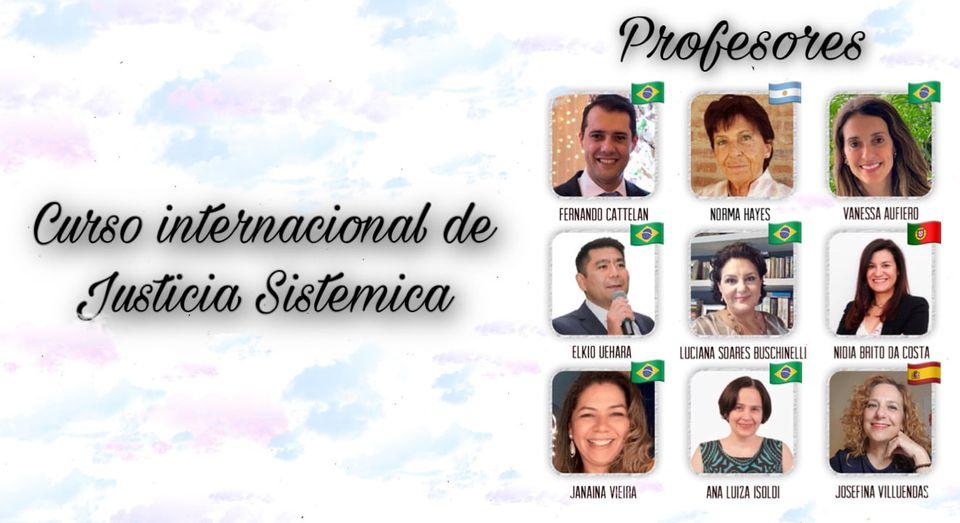 Curso Internacional de Justicia Sistémica