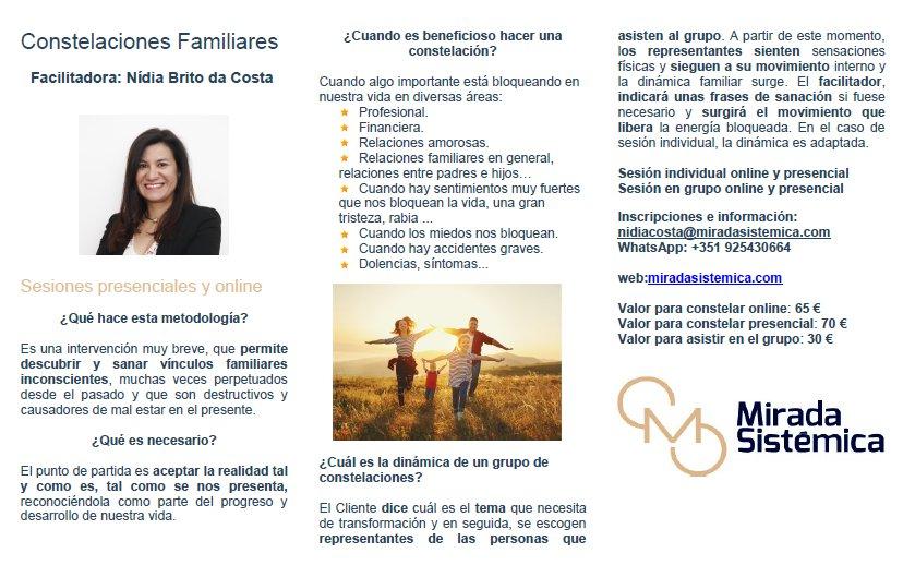 Triptico costealaciones familiares español - Mirada Sistémica