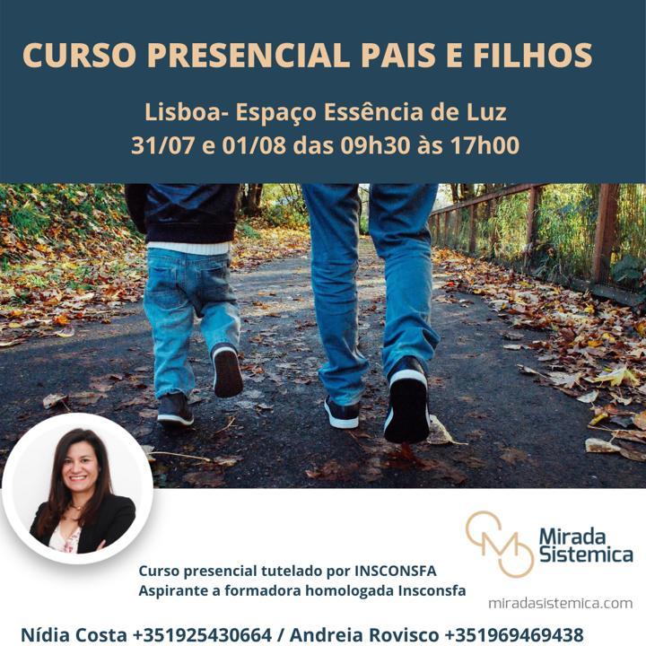 Pais e Filhos Lisboa Presencial Mirada Sistémica