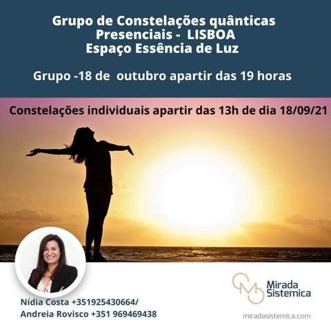 Constelações Quánticas Presencial Lisboa - Mirada Sistémica